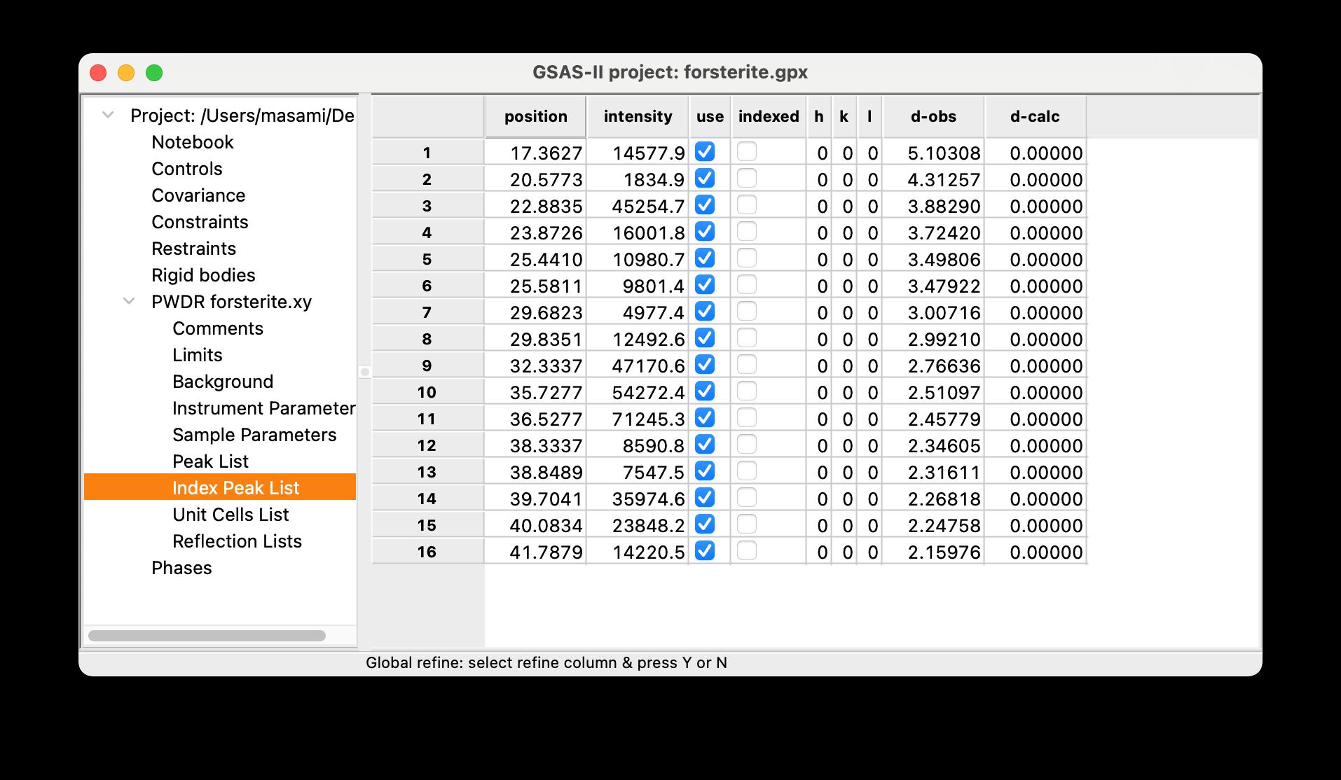 GSAS2-peaklist4index.png